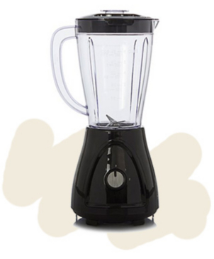 Blenders save time and help you to make tasty soups, sauces or smoothies