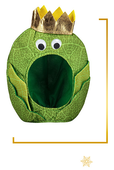 Raise a smile this Christmas. Shop our Brussel Sprout hat