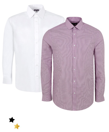Smarten up with our range of shirts