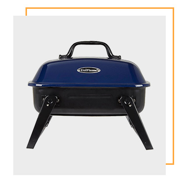 Why not try a portable BBQ for when you're on the go?