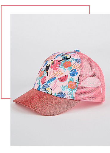 A stylish cap will keep your cool in the sunshine