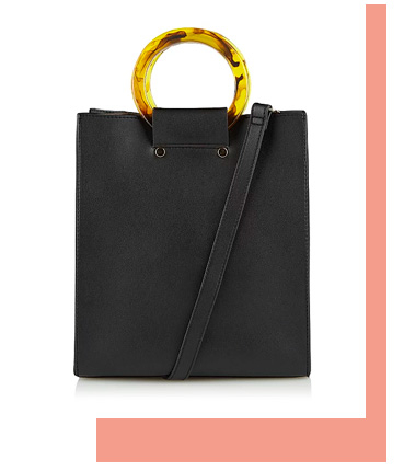 Shop black handbag