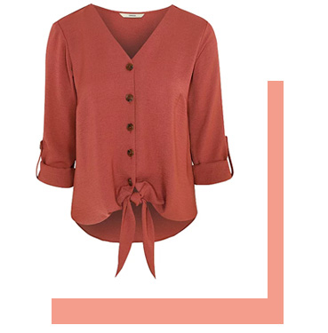 Team yours with a relaxed blouse