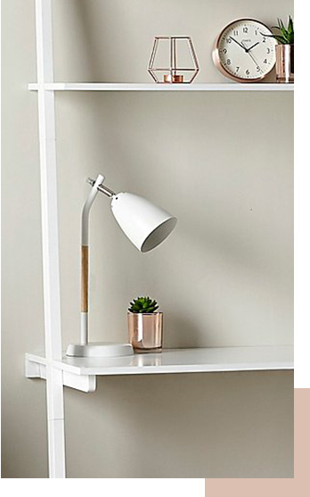 Our collection of lamps will transform your space