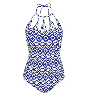 Make a statement in a printed swimsuit