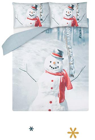 Shop snowman bedding