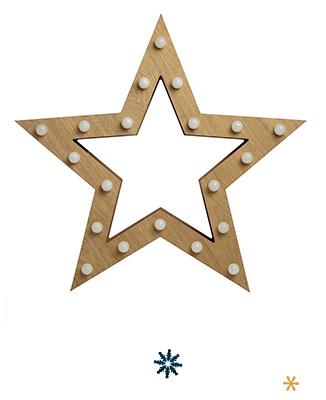 Shop star-shaped Christmas light