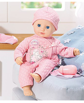 Made with sleeping eyes and realistic functions, this is the perfect starter doll for infants and toddlers new to Baby Annabell
