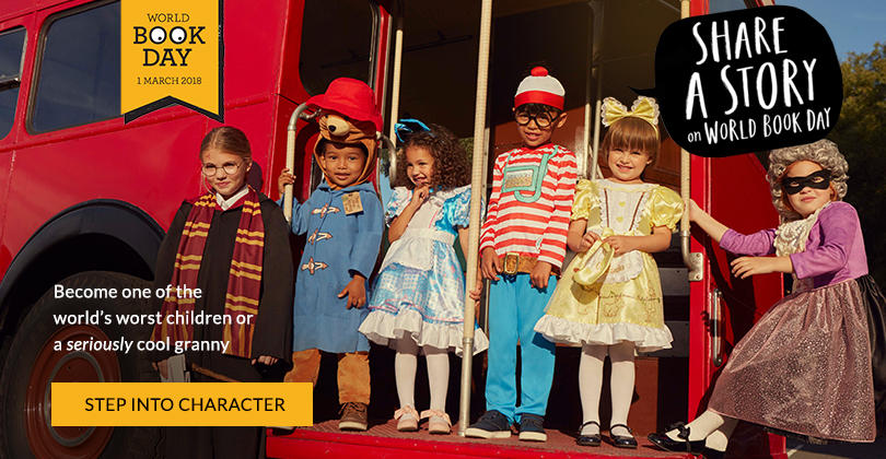 Bring their favourite storybook characters to life for this year's World Book Day. Shop fancy dress now