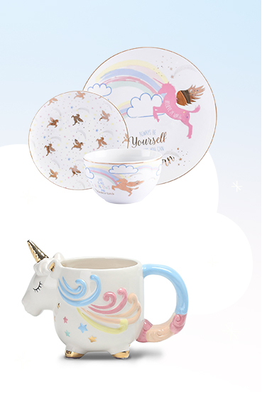 Check out our magical dinnerware range