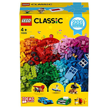 LEGO Classic 900 colourful bricks