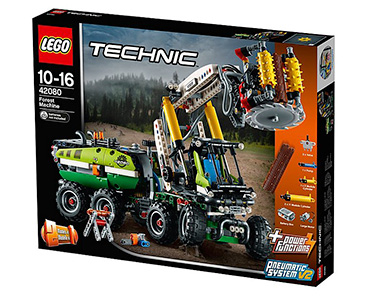 LEGO Technic Forest Machine playset