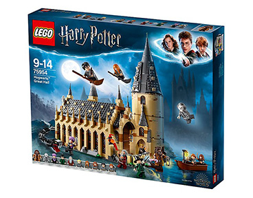 LEGO Harry Potter Hogwarts Great Hall set