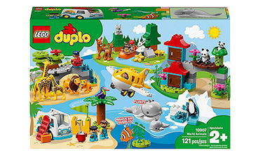 LEGO DUPLO World Animals set