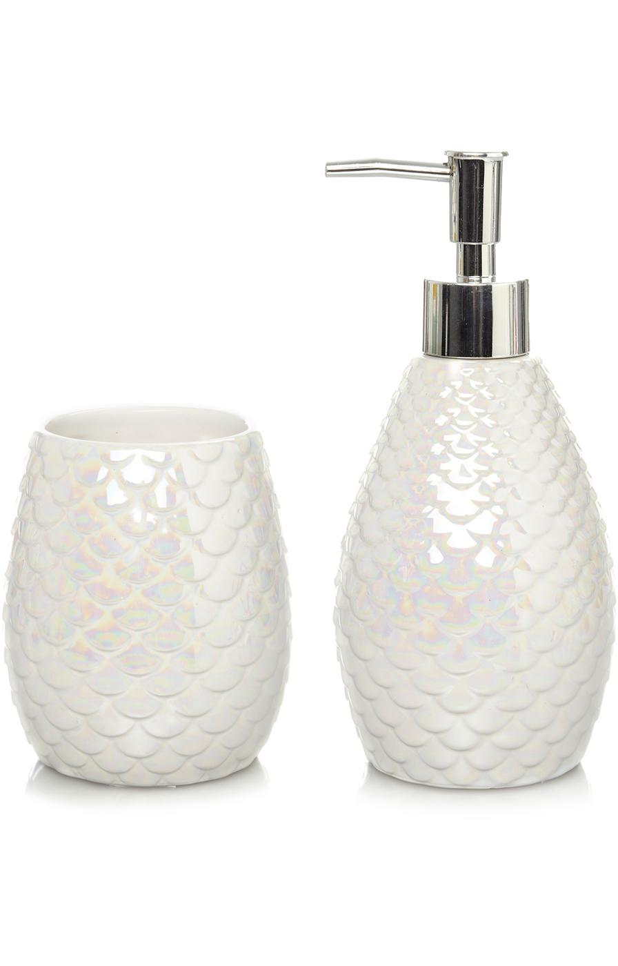 Iridescent Bathroom Accessories Range