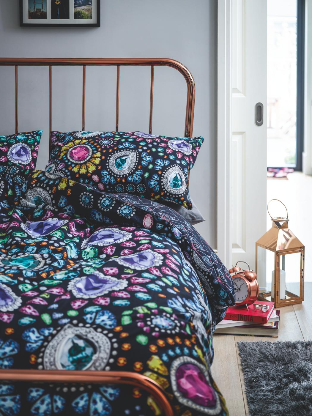 Bejewelled Bedroom Range Duvet Covers