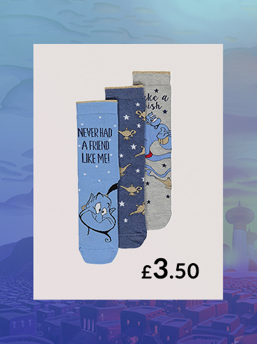 With 3 designs that could have been the work of the Genie himself, you ain't never had a pack of socks like these