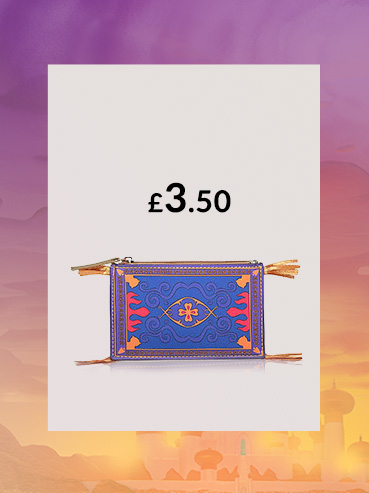 Keep treasure safe in an Aladdin bag and matching coin purse