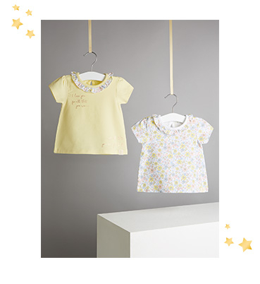 Kit your little one out with our range of comfy and stylish T-shirts