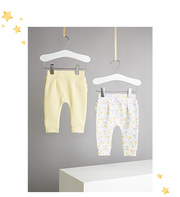 Keep your little one cosy and comfortable in a pair of stylish joggers