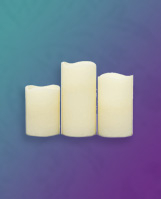 Product image of white LED candles