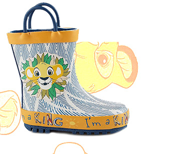 These adorable The Lion King wellington boots will soon become a rainy day favourite