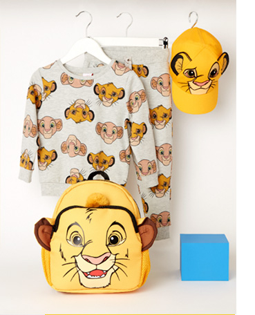 Match this Disney The Lion King Simba and Nala and joggers set with a Simba bag and hat