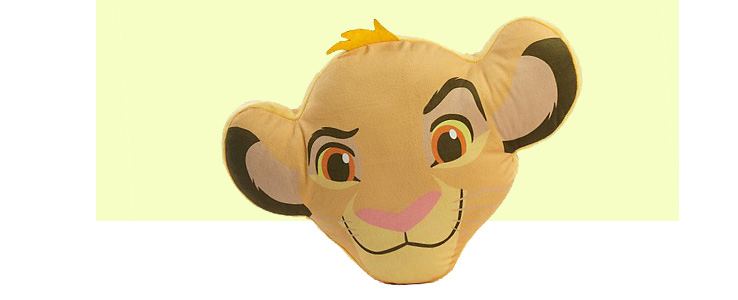 He just can't wait to be king, and we bet they just can't wait to get their hands on this Simba cushion
