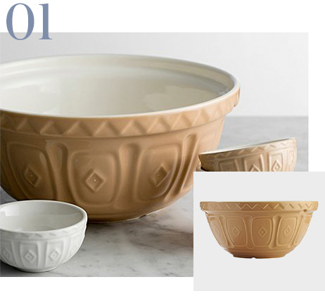 Image of large bowl and small bowl