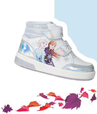 Product image of white light up Disney Frozen trainer boots