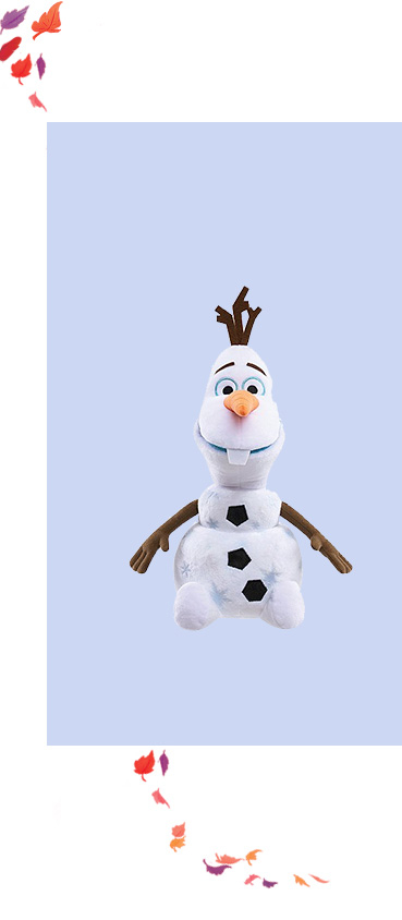 Product image of a sing and swing Disney Frozen Olaf toy
