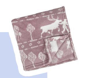 Product image of Disney Frozen fleece throw