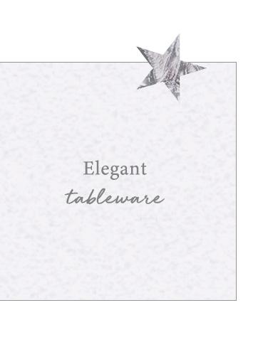 Elegant tableware
