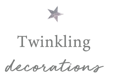 Twinkling decorations