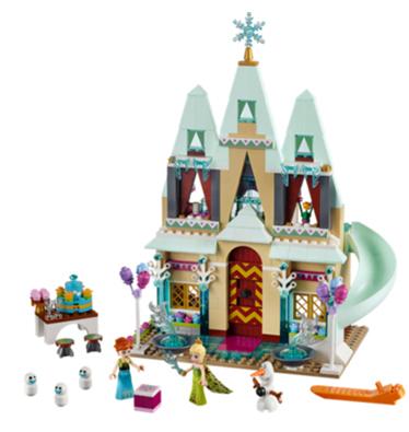 A Disney Frozen lego set.