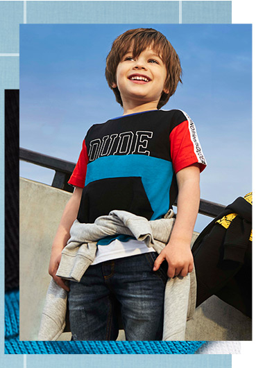 Discover what's new in boys' clothing