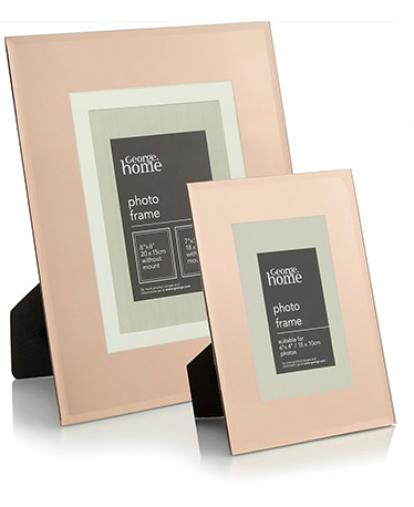 Copper Photo Frame Range