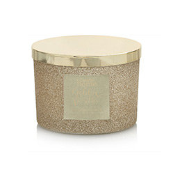 Glitter Multiwick Candle - Golden Vanilla