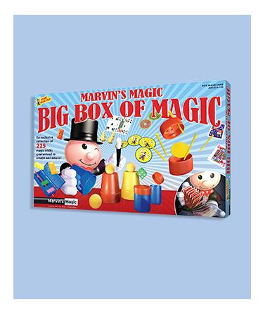 Marvin's Magic Big Box of Magic 225 tricks