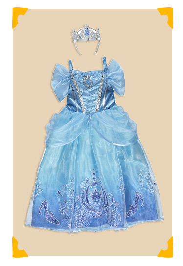 Disney Princess Cinderella Fancy Dress Costume