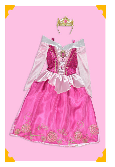 Disney Princess Sleeping Beauty Fancy Dress Costume