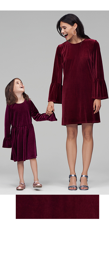 Rock the velvet trend with your little one this season with our range of velour outfits at George.com