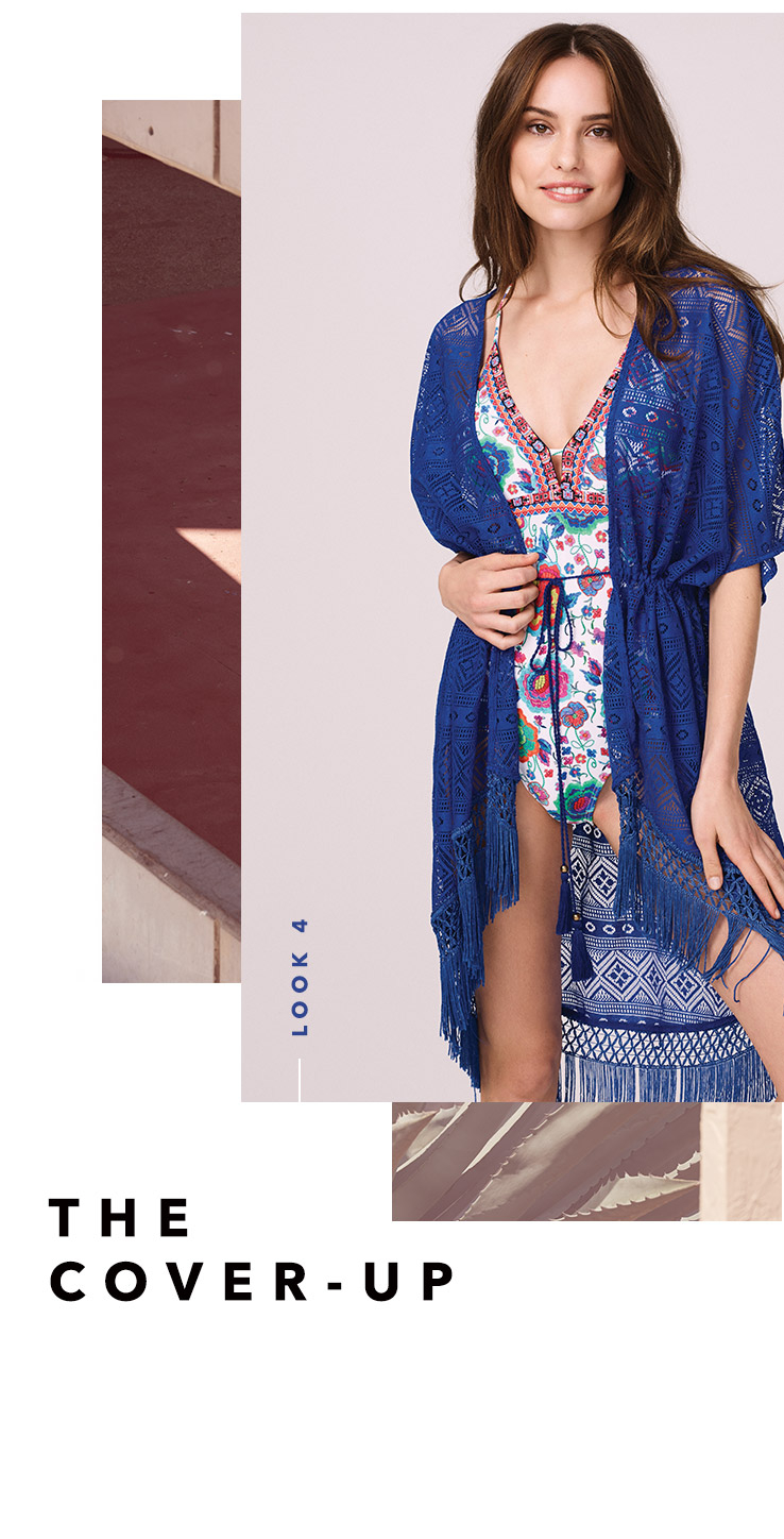 Complete your holiday wardrobe with our new range of kaftans and cover-ups