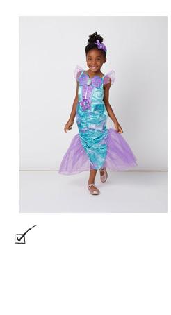 Shop our Disney Princess Ariel Little Mermaid fancy dress costume
