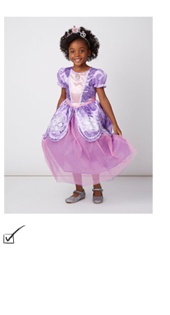 Shop our Disney Sofia the First fancy dress costume