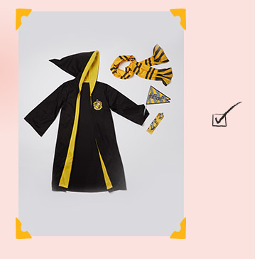 Shop our Harry Potter Hufflepuff robe fancy dress