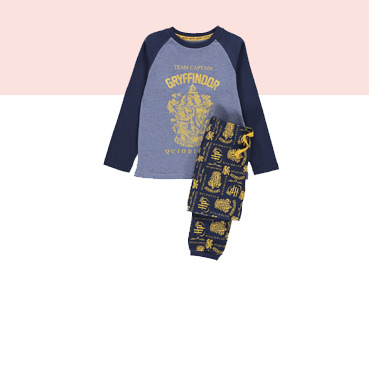 Kit little wizards out in our range of Harry Potter pyjamas for boys