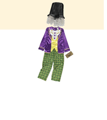 Shop our Willy Wonka fancy dress costume