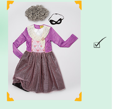 Shop our Gangsta Granny costume from our David Walliams fancy dress range