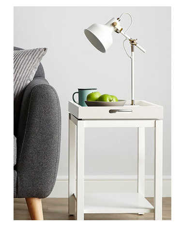 Tray Table - White